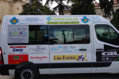 Fersay participa en el acto benéfico de entrega de un vehículo para la Fundación AFA