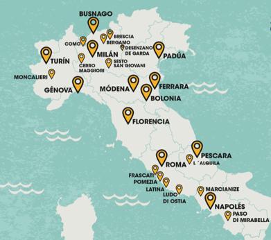 100 Montaditos en Italia