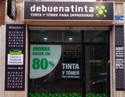 Nueva tienda asociada Debuenatinta en Almería