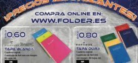 Folder presenta un Catálogo Vuelta al Cole con más de 3.000 artículos
